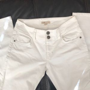 Cabi White Jeans Style 763